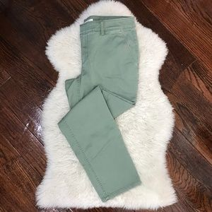 LOFT  Bottoms Pants Olive Green Kahki Sz 6P